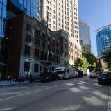 Photograph of West Hastings Street (between Thurlow & Burrard).