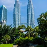Photograph of Petronas Twin Towers.