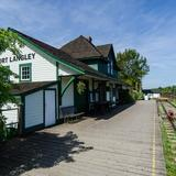 Photograph of Fort Langley CN Station.