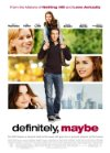 Poster for Definitely, Maybe.