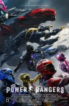 Poster for Power Rangers.