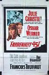 Poster for Fahrenheit 451.