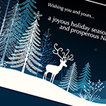 Electronic Holiday Card