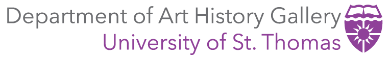 University of St. Thomas Department of Art History Gallery Logo