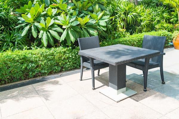 I migliori tavoli da giardino