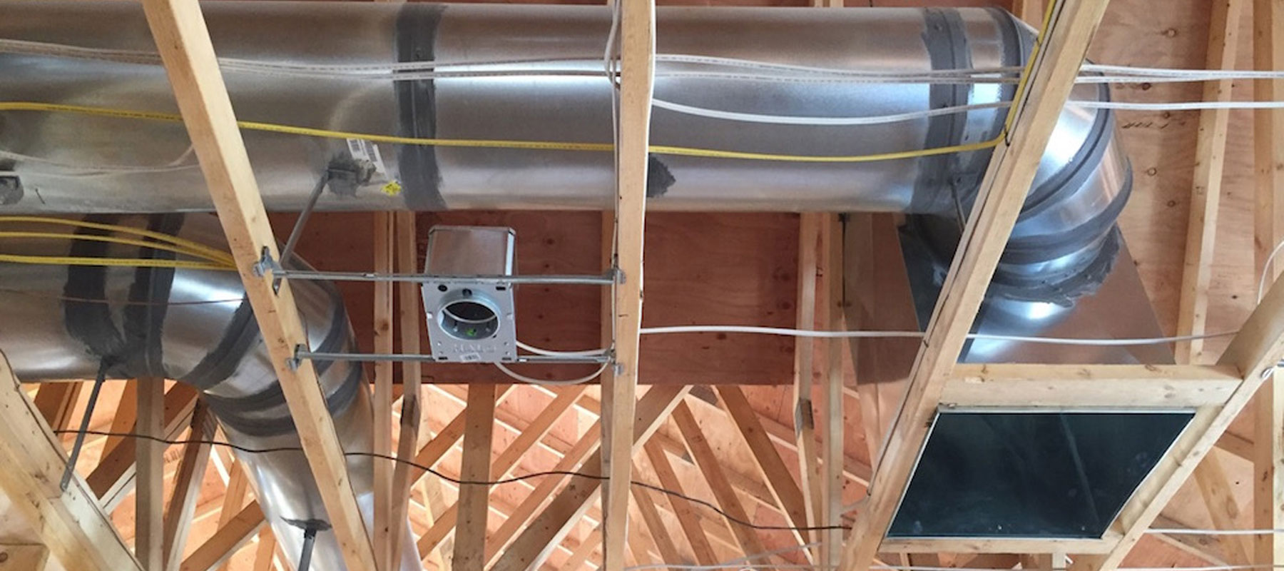 HVAC duct installation   Mr Duct Cleaner