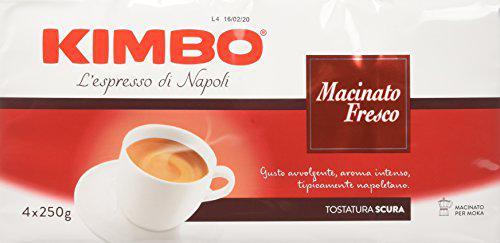 Kimbo Macinato Fresco Caffè Macinato