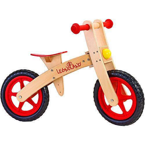 Legnoland - Bicicletta in Legno Ruota Libera senza Pedali