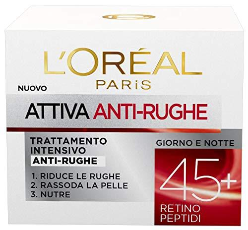 L'Oréal Paris Anti-Falten-Gesichtscreme Aktiv 45+