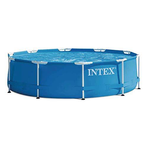 Intex 28202 Metallrahmen-Schwimmbecken mit Filterpumpe