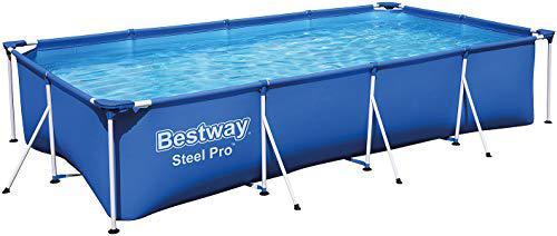 Bestway 56424 | Steel Pro Rechteckiger Aufstellpool