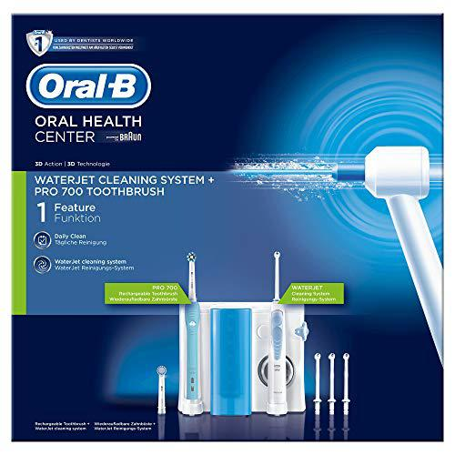 Oral-B Waterjet Sistema Pulente Idropulsore e Spazzolino Elettrico