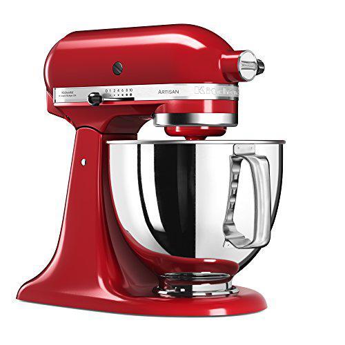 KitchenAid Artisan 5KSM125EER Robot da Cucina, Rosso Imperiale