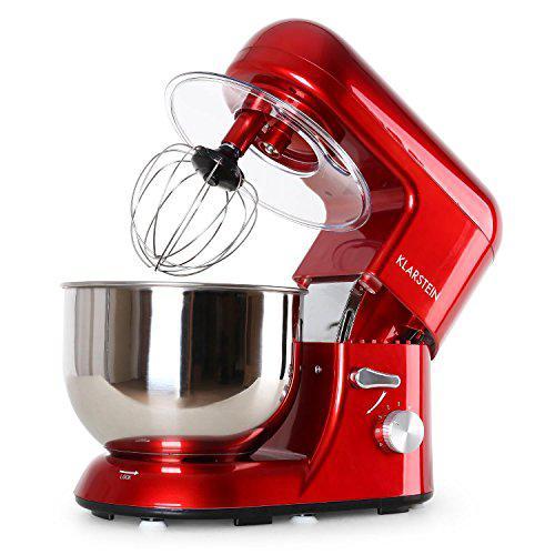 KLARSTEIN Bella Rossa - Robot da Cucina, Mixer, Impastatrice