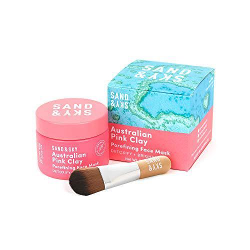 Sand & Sky - maschera all'argilla rosa australiana - per ridurre i pori