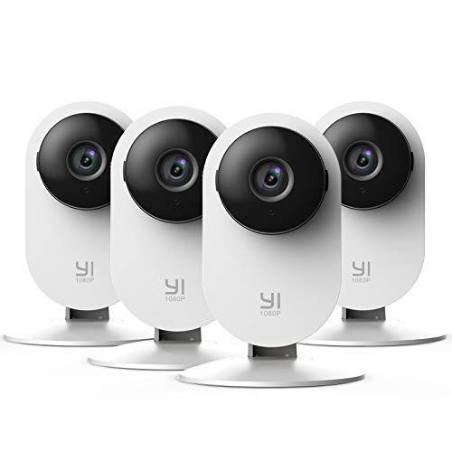 YI Home Camera 1080p Kit da 4