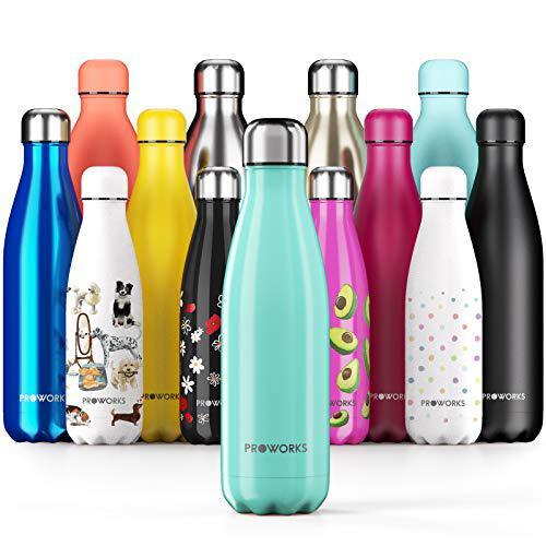 Proworks Bottiglia Acqua in Acciaio Inox