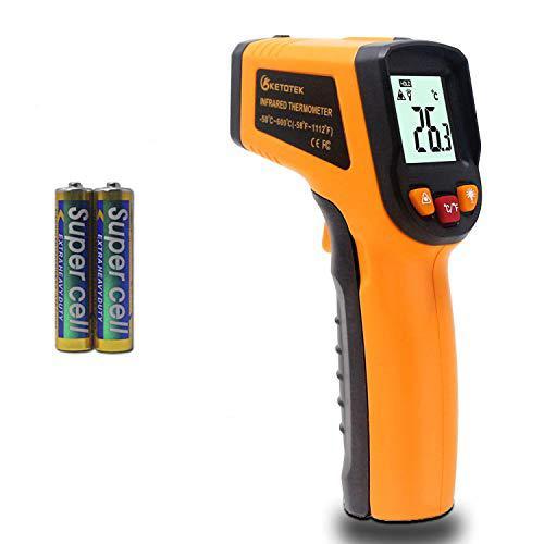 KETOTEK Termometro Laser Termometro Infrarossi Digitale