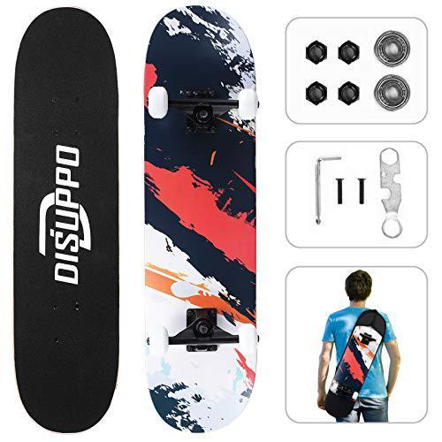 DISUPPO Cruiser Skateboard