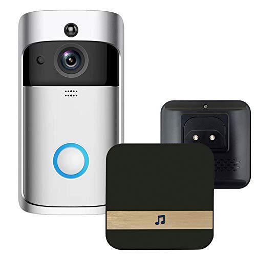 KKmoon Set di Videocitofono WiFi