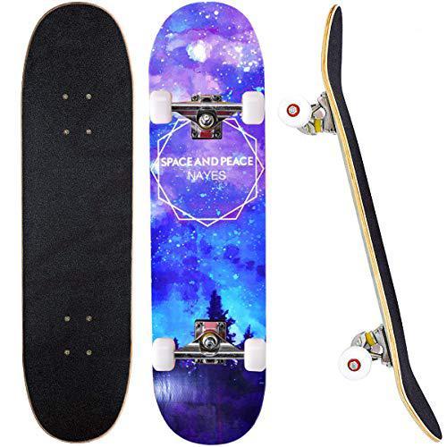 Skateboard completo 78,7 x 20,3 cm