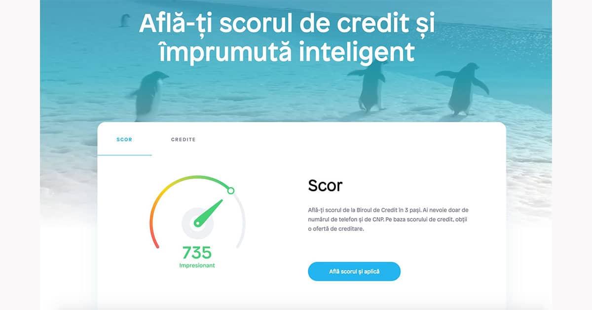 Ocean Credit - afla scorul tau de credit