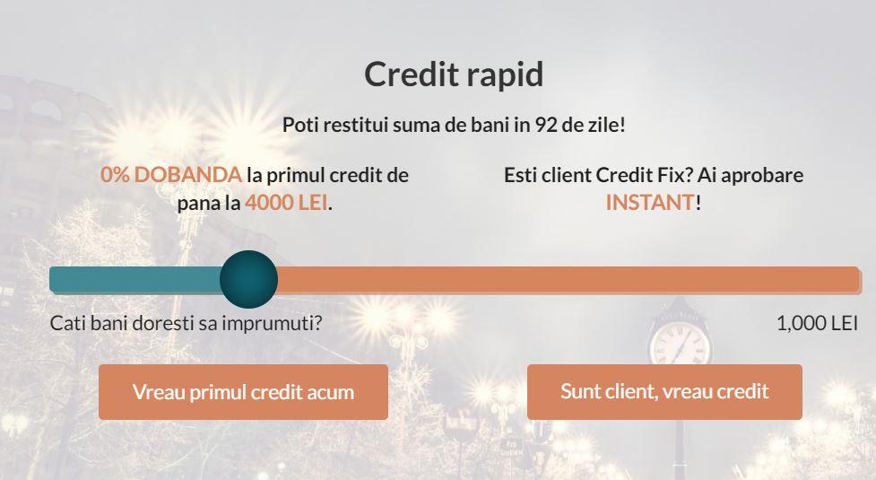 creditfix - vreau credit