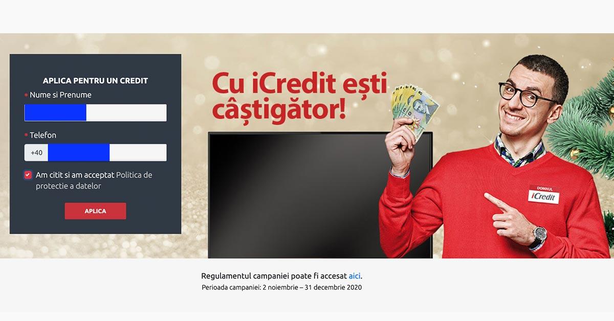 icredit - aplica pentru un credit