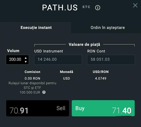 Cum sa cumperi actiuni UiPath direct din platforma xStation cu 0% comision? 4