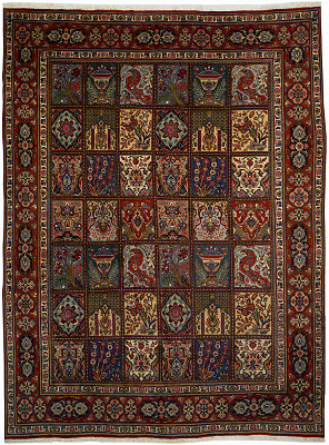Persian Tabriz Rectangle 9x12