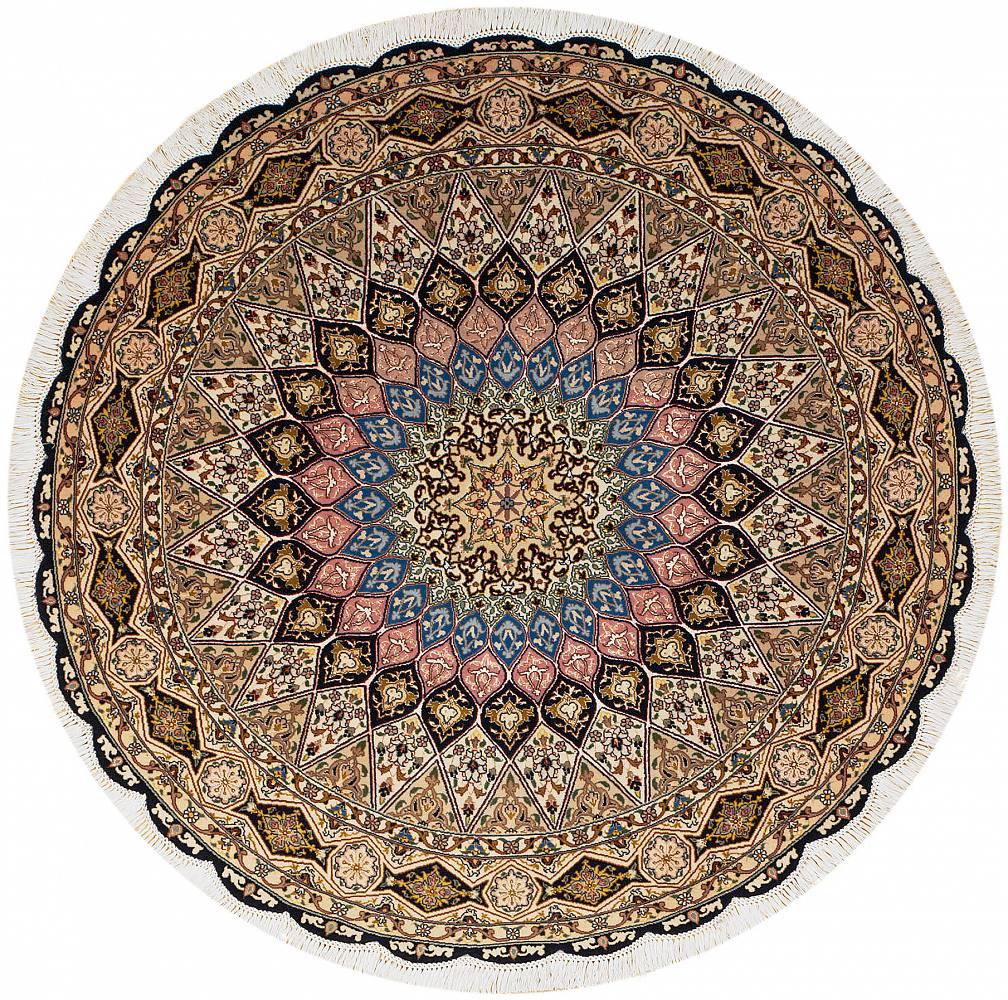 Persian Tabriz Round 5x5