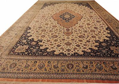 Persian Qum Rectangle 12x19