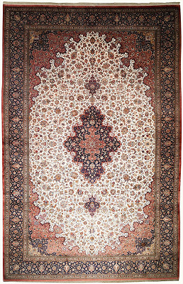 Persian Qum Rectangle 13x20