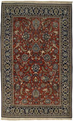 Persian Qum Rectangle 5x8