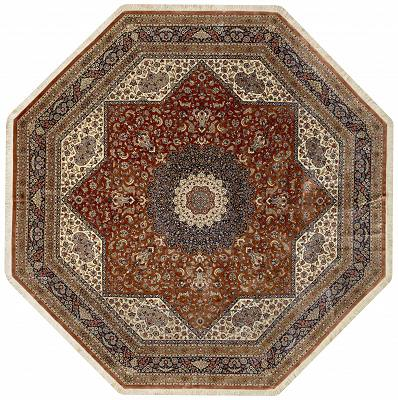 Persian Qum Hexagon 10x10
