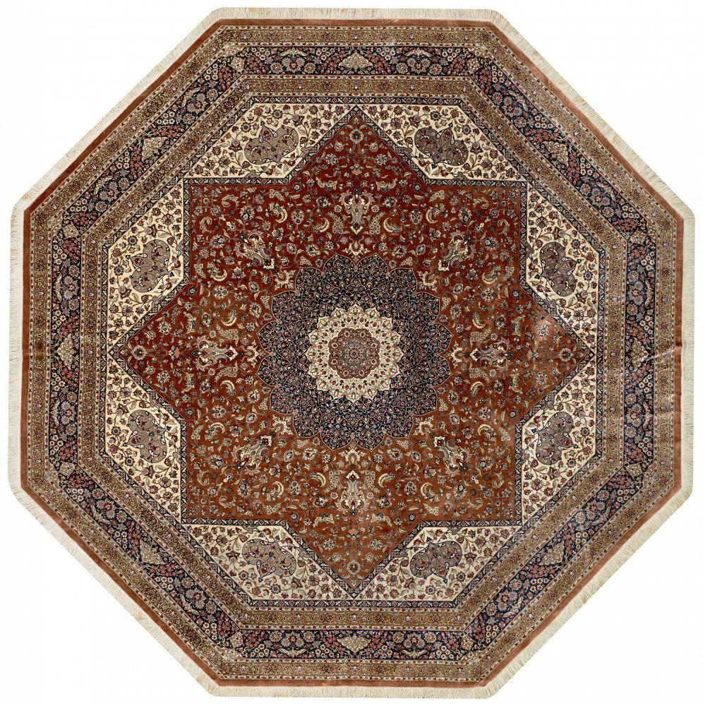 Persian Qum Hexagon 10x10