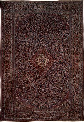 Persian Kashan Rectangle 11x16