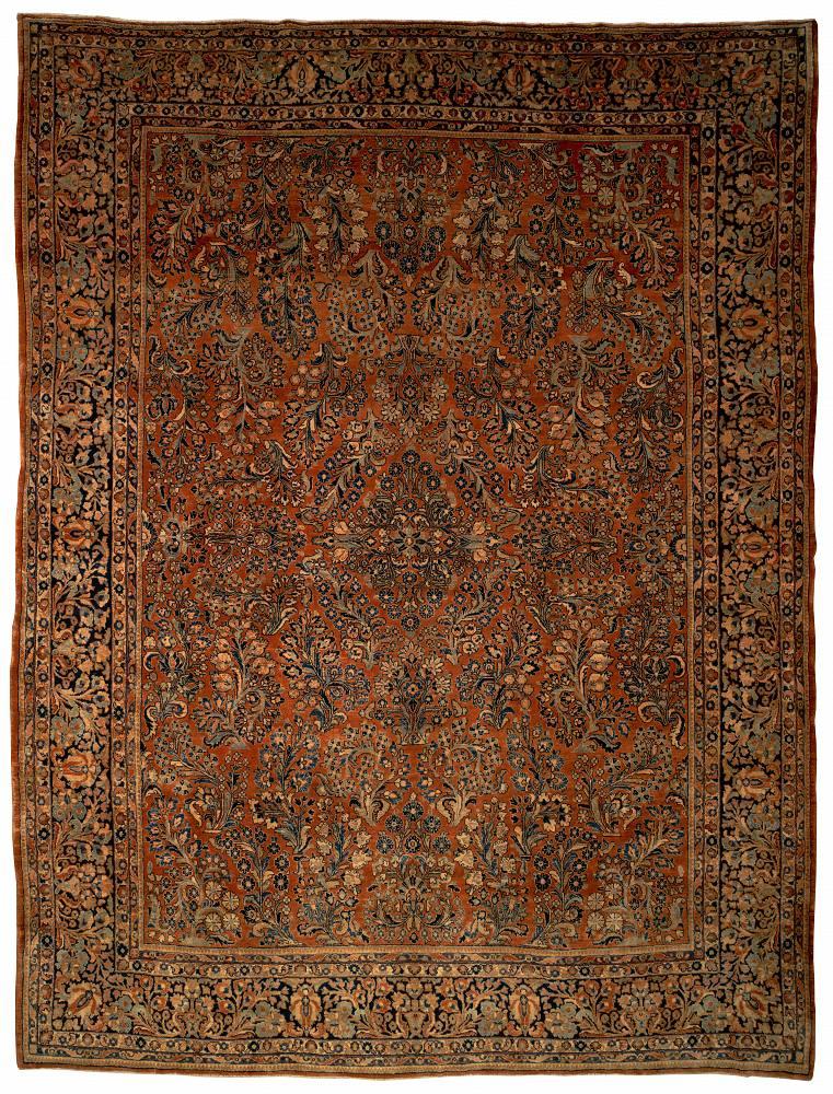 Persian Sarouk Rectangle 10x13