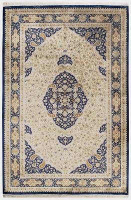 Persian Qum Rectangle 4x6
