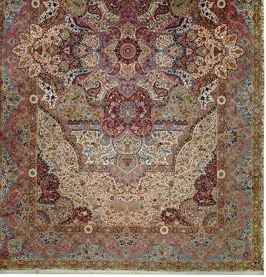 Persian Tabriz Rectangle 16x26