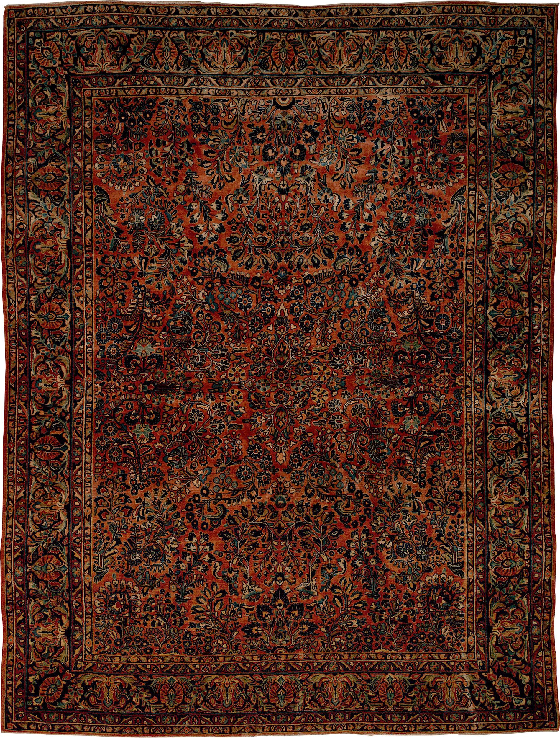Persian Sar/Mohajer Rectangle 8x11