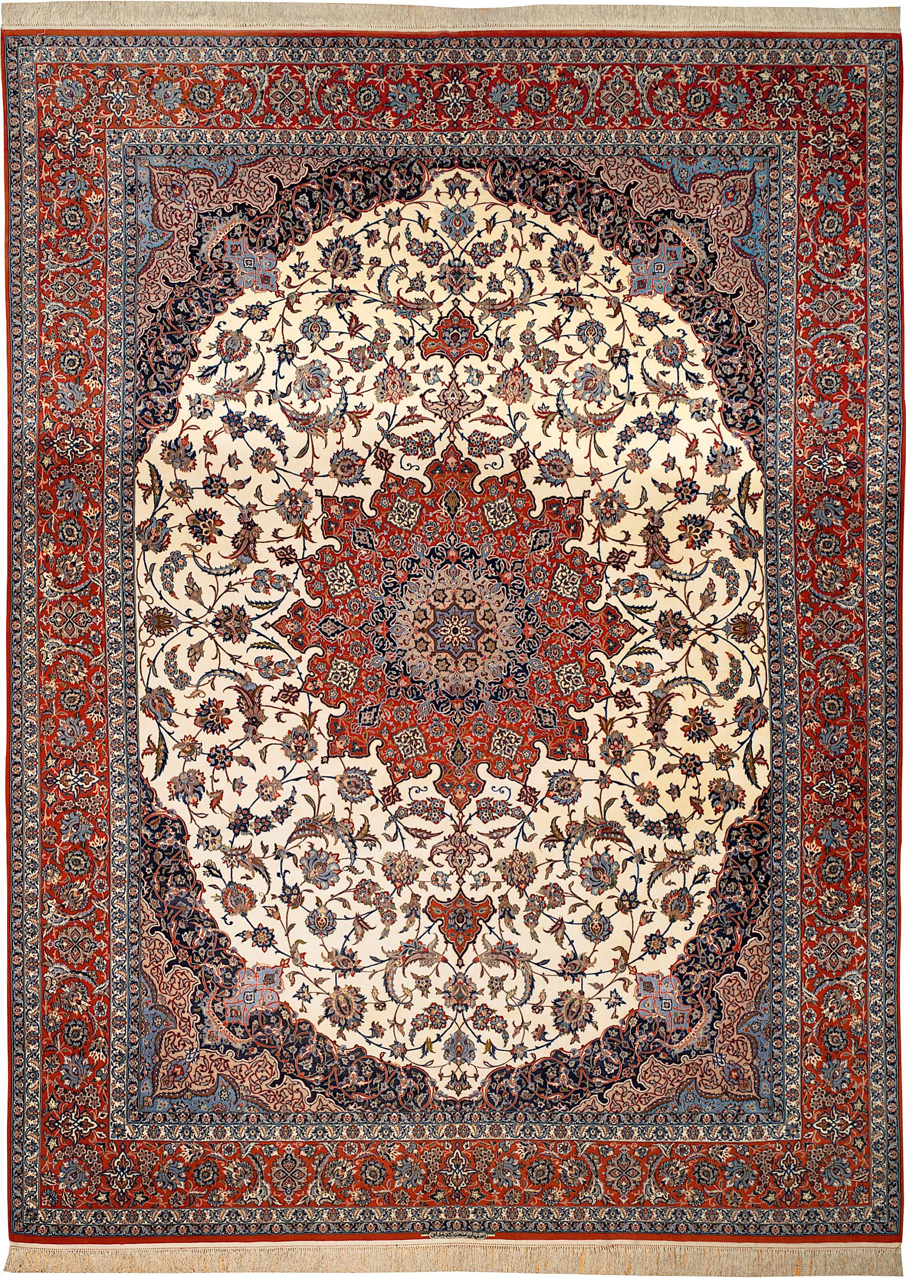 Persian Isfahan Rectangle 9x13