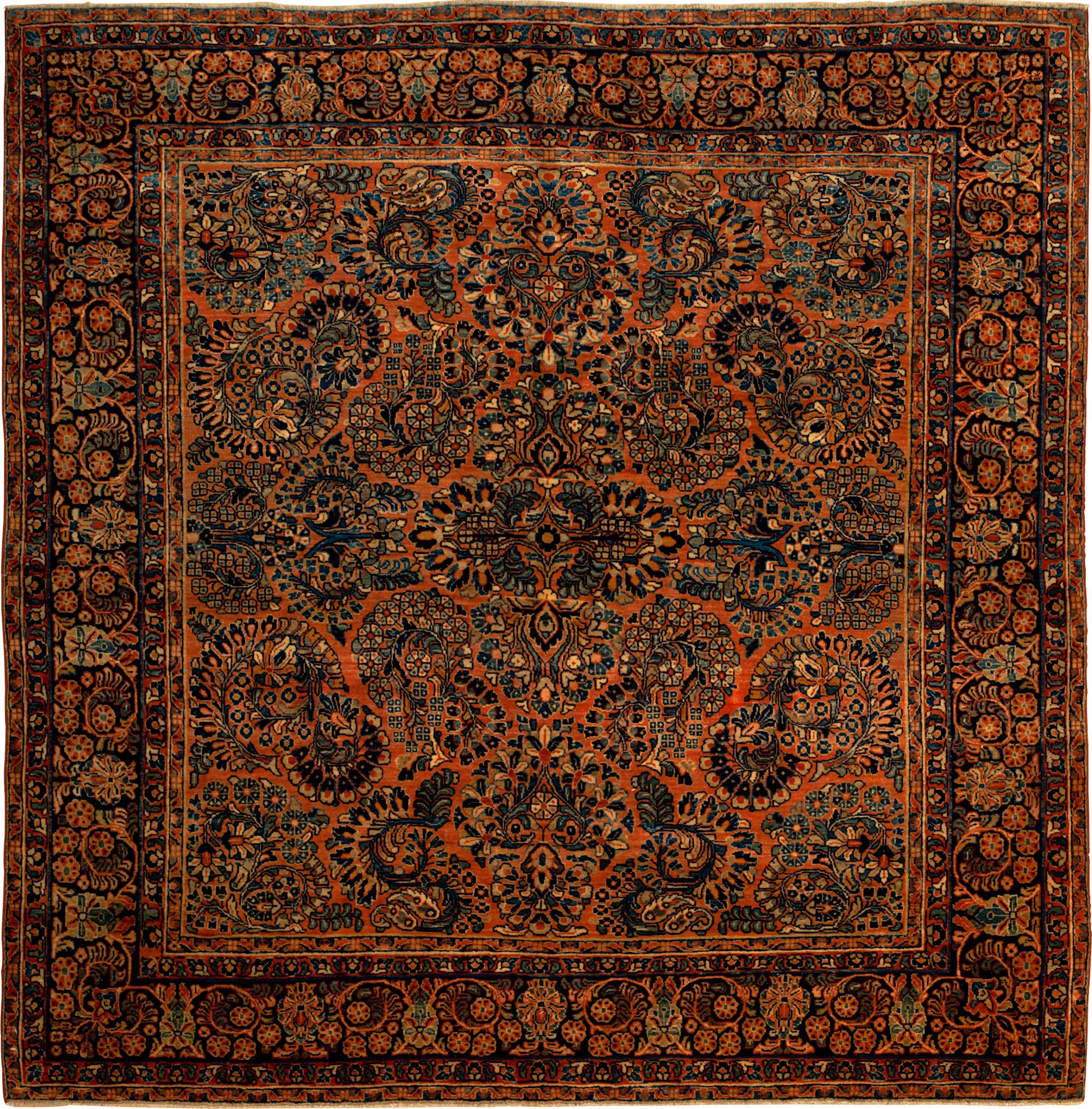 Persian Sarouk 6x6