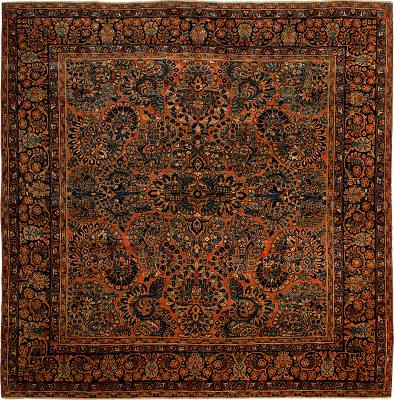 Persian Sarouk Square 6x6