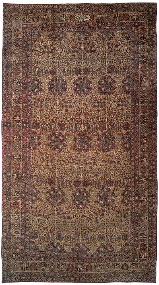 Persian Ravar Rectangle 10x18