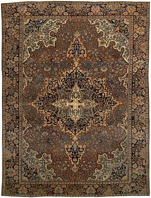 Persian Farahan Rectangle 8x11