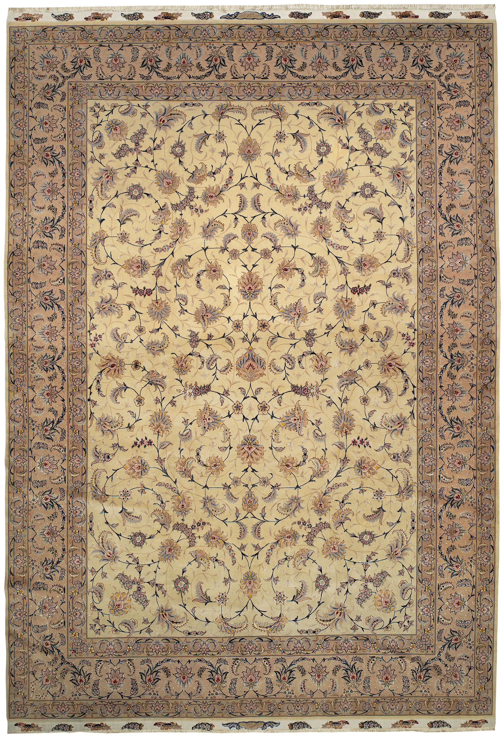 Persian Tabriz Rectangle 8x12