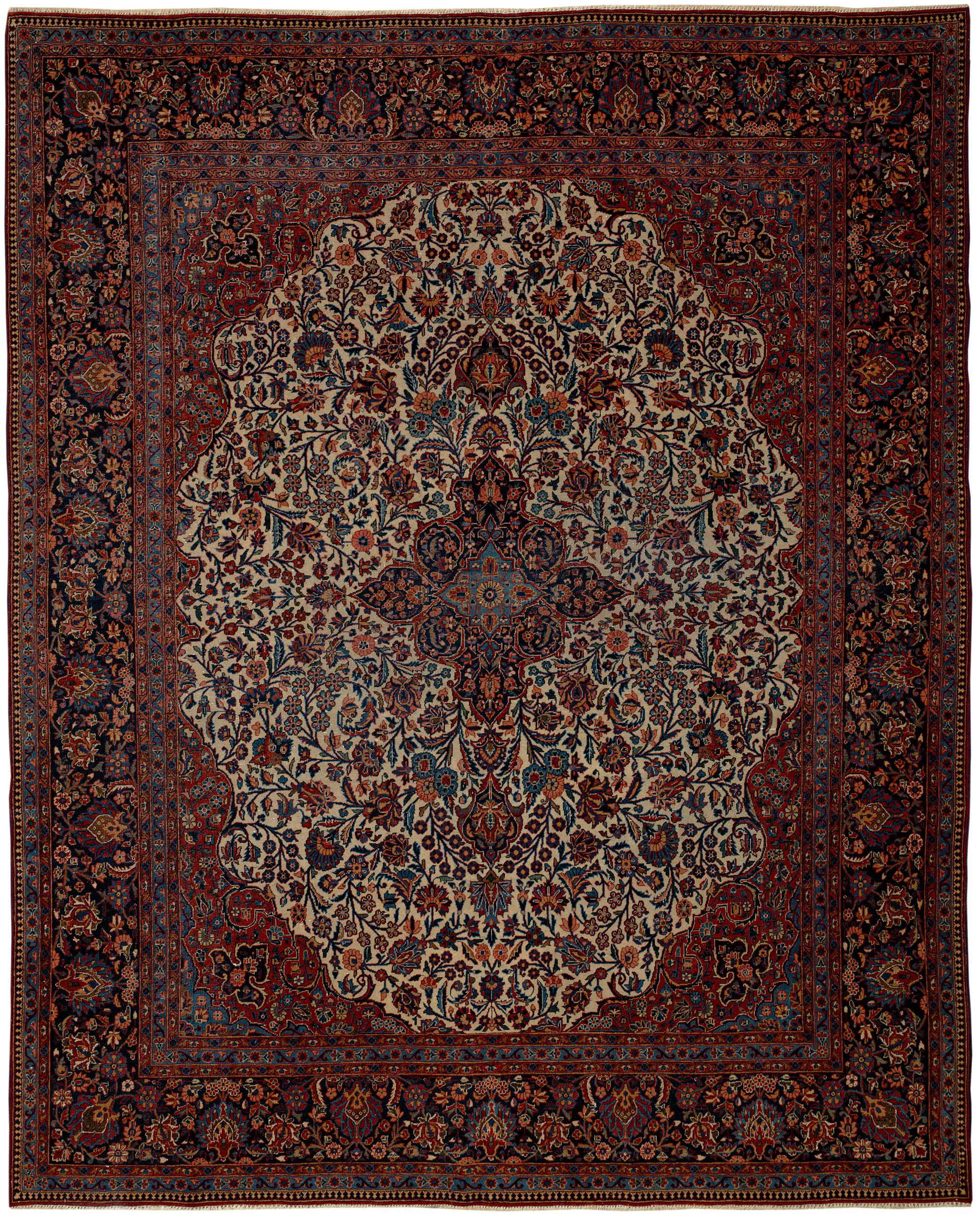 Persian Kashan Rectangle 7x9
