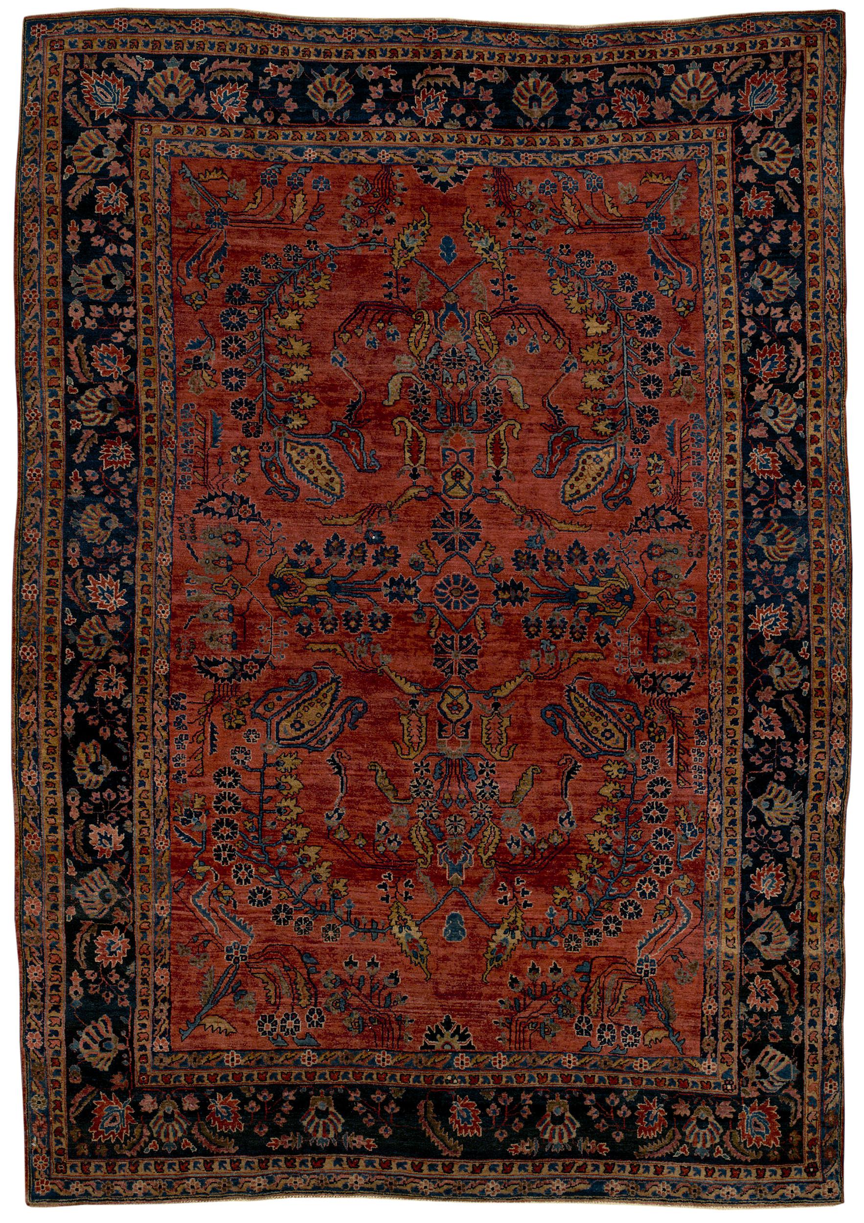 Persian Sar/Mohajer Rectangle 6x9