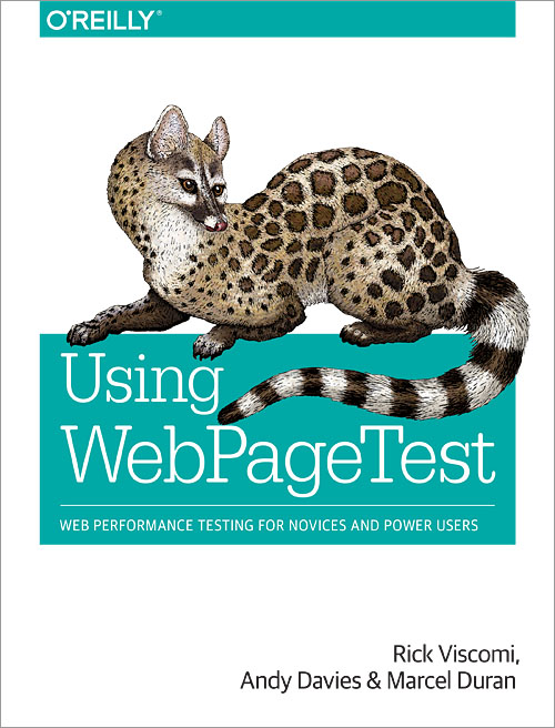 Image of book cover for Using WebPageTest